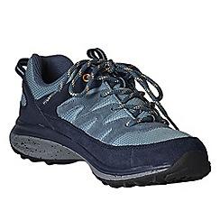 Lands' End - Blue women's wide trekker shoes