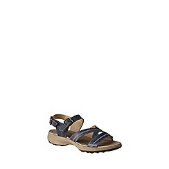 Lands' End - Blue trekker sandals