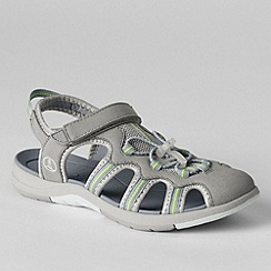 Lands' End - Grey women's wide water sandals