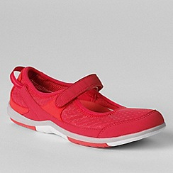 Lands' End - Red women's wide water mary janes