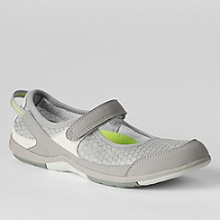 Lands' End - Grey women's wide water mary janes