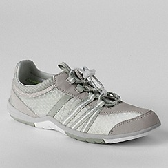 Lands' End - Grey women's wide water shoes