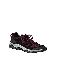 Lands' End - Red men's wide trekker shoes