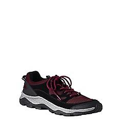 Lands' End - Red wide trekker shoes
