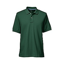 Lands' End - Green tall short sleeve original pique polo shirt