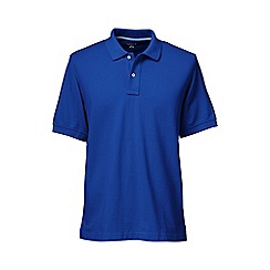 Lands' End - Blue tall short sleeve original pique polo shirt