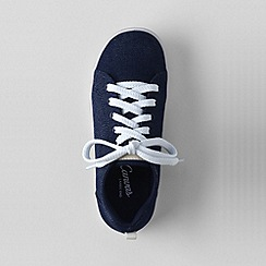 Lands' End - Blue youth canvas trainers