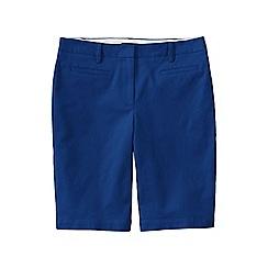 Lands' End - Blue regular bermuda chino shorts