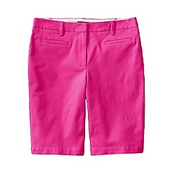 Lands' End - Purple regular bermuda chino shorts