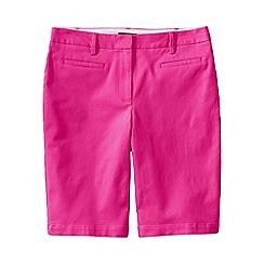 Lands' End - Purple regular bermuda chino shorts
