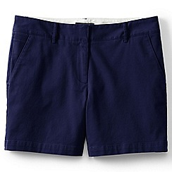 Lands' End - Blue regular low rise chino shorts