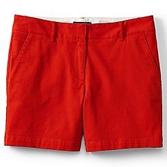 Lands' End - Orange regular low rise chino shorts