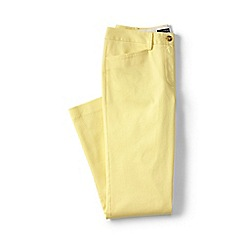 Lands' End - Gold regular cropped stretch chinos