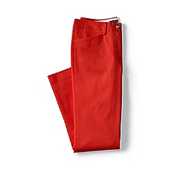 Lands' End - Orange regular cropped stretch chinos