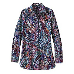 Lands' End - Multi women's regular patterned non iron tunic