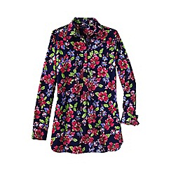 Lands' End - Multi women's patterned non iron tunic