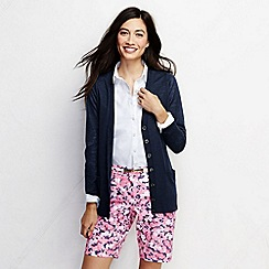Lands' End - Multi women's mid rise 10 dobby chino shorts