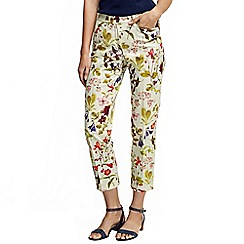Lands' End - Multi women's regular printed cropped chinos