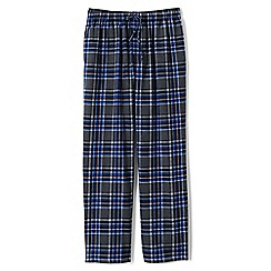 Lands' End - Grey flannel pyjama bottoms