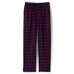 Lands' End - Red flannel pyjama bottoms