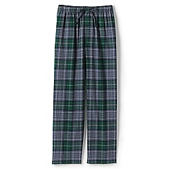 Lands' End - Green flannel pyjama bottoms