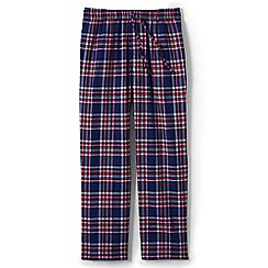 Lands' End - Red flannel pyjama bottoms