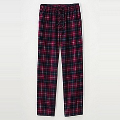 Lands' End - Red men's flannel pyjama bottoms