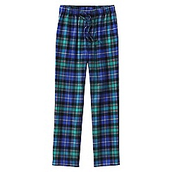 Lands' End - Multi men's flannel pyjama bottoms