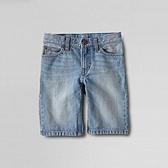 Lands' End - Blue little boys' denim shorts