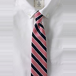 Lands' End - Red striped tie