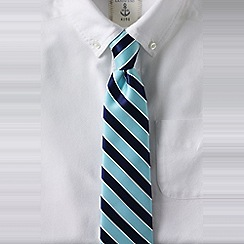 Lands' End - Blue striped tie