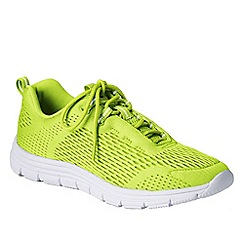 Lands' End - Green women's performance trainers