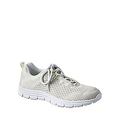 Lands' End - White women's performance trainers
