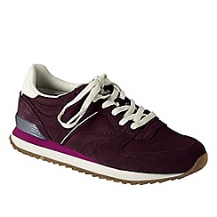 Lands' End - Red women's retro trainers