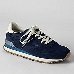 Lands' End - Blue women's retro trainers