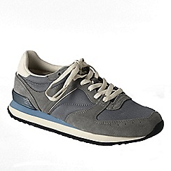 Lands' End - Grey women's retro trainers