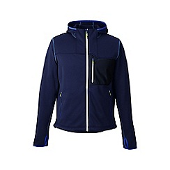 Lands' End - Blue men's performance hoodie