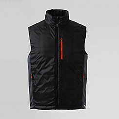 Lands' End - Black men's primaloft gilet