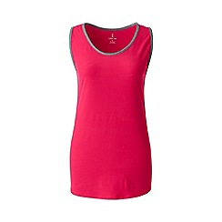 Lands' End - Red performance vest top
