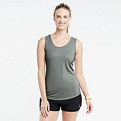 Lands' End - Grey women's performance vest top