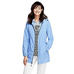 Lands' End - Blue lighthouse packable parka