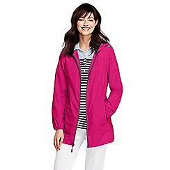 Lands' End - Pink lighthouse packable parka