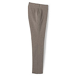 Lands' End - Beige regular starfish slim leg trousers