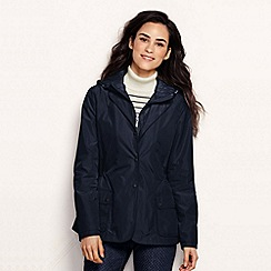 Lands' End - Blue women's convertible hooded jacket
