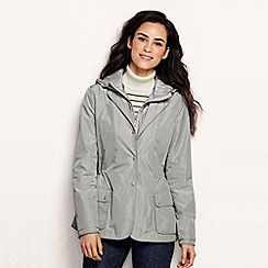 Lands' End - Metallic women's convertible hooded jacket