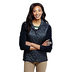 Lands' End - Blue women's hybrid primaloft jacket
