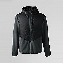 Lands' End - Black regular hybrid primaloft jacket