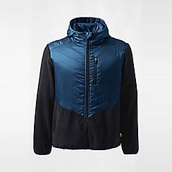 Lands' End - Blue regular hybrid primaloft jacket