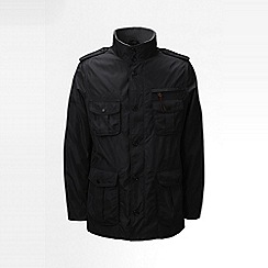 Lands' End - Black military jacket