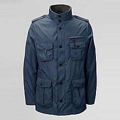 Lands' End - Blue men's military jacket